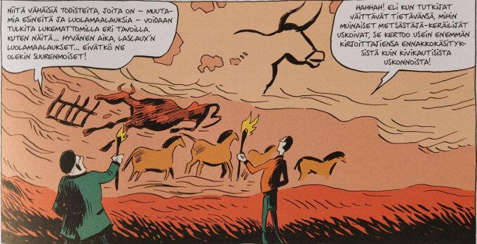 Sapiens Ihmiskunnan synty Lascaux'n luolamaalaukset