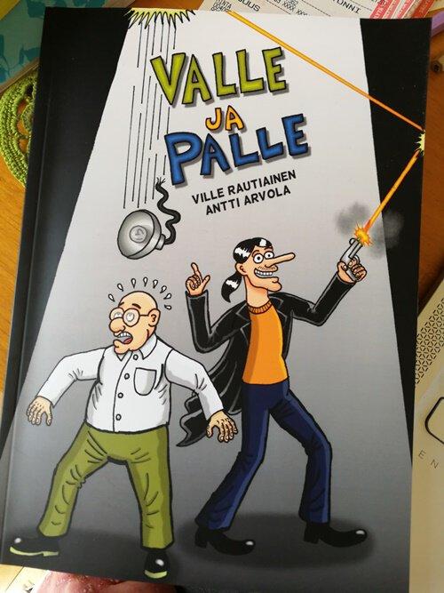 Valle ja Palle teoksen kansi