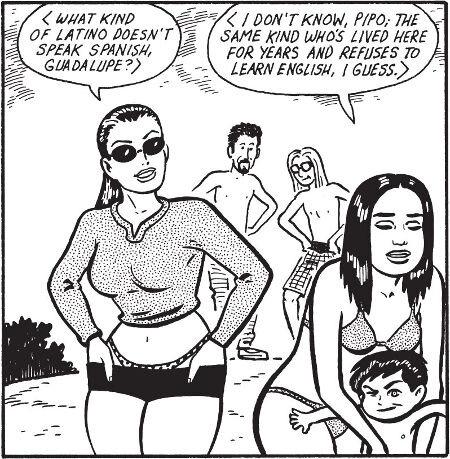 Uimarannalla hahmot kyseenalaistavat latinoidentiteetin Yhdysvallossa