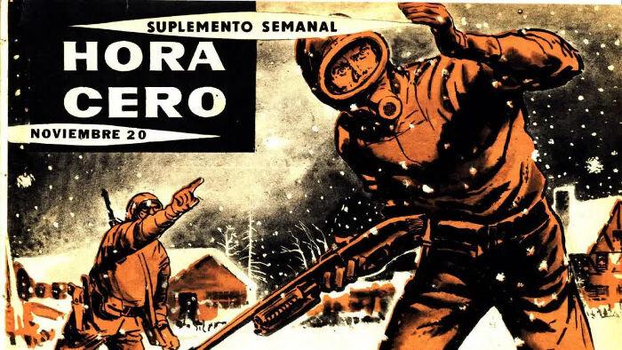 Hora Cero -lehden kannessa Salvo ja Favalli. Suplemento Semanal merkitsee viikkoliitettä.